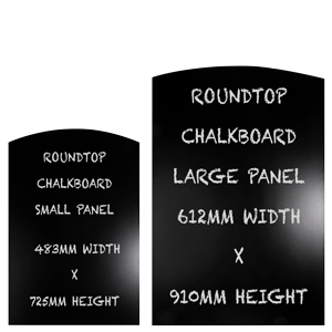 Chalk Board Dimensions