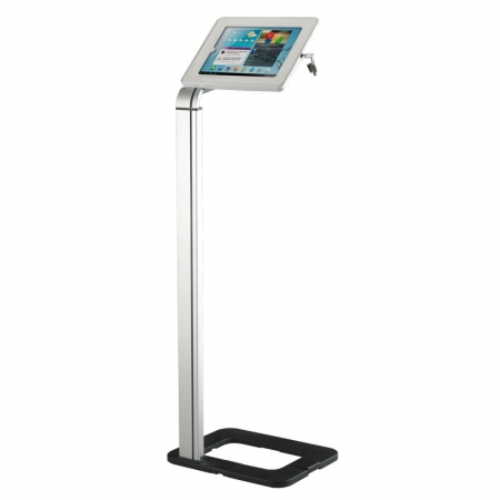 Floor Standing Lockable Tablet Holder