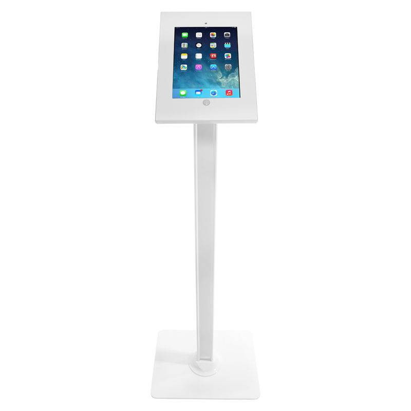 iPad Lockable Floor Standing Kiosk
