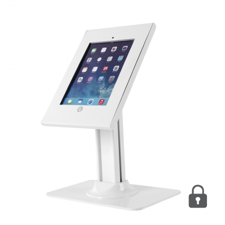 iPad Lockable Counter Top Kiosk
